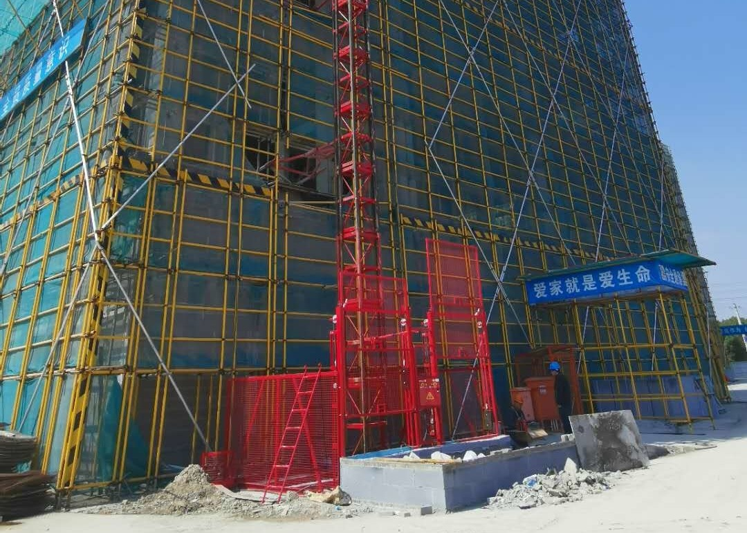 Waterproof Construction Hoist Elevator For Industrial And Mining
